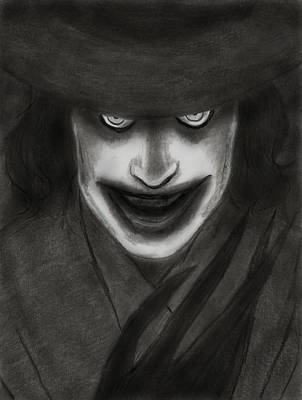 Stanford Digital Art - The Babadook by Amber Stanford