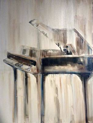 Photograph - The Baby Grand Piano  by Deedee Williams