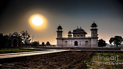 Photograph - The Baby Taj Mahal The First Taj Built by Rene Triay Photography