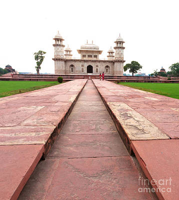 Marble Inlay Tomb-stones Photograph - The Baby Taj by Massimo Lama