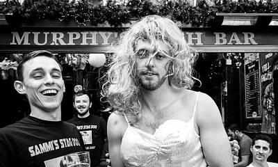 Photograph - The Bachelor Party by Bob VonDrachek