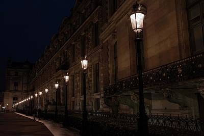 Photograph - The Back Alleyway To The Louvre   by Hany J