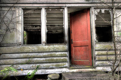 Photograph - The Back Door by Mike Eingle