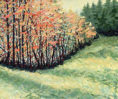 Painting - The Back Fifteen Acres by Phil Chadwick