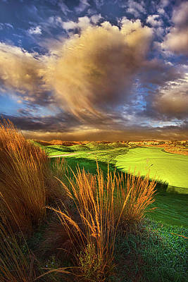 Golf Art Photograph - The Back Nine by Phil Koch