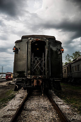 Photograph - The Back Of The Train by Dale Kincaid