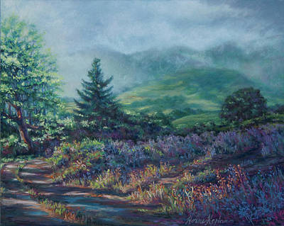 Pastel - The Back Road In by Denise Horne-Kaplan