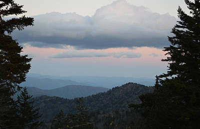 Photograph - The Back Side Of Sunset - Clingmans Dome by rd Erickson