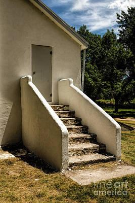 Photograph - The Back Steps by Jon Burch Photography