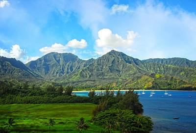 Photograph - The Backside Of The Napali Coastline by Lynn Bauer