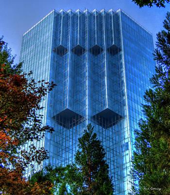 Photograph - The Backyard 2 Tower Place 100 Buckhead Atlanta Art by Reid Callaway