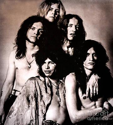 Aerosmith Photograph - The Bad Boys From Boston by Gary Keesler