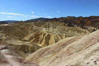 Photograph - The Badlands Of Death Valley by Christiane Schulze Art And Photography