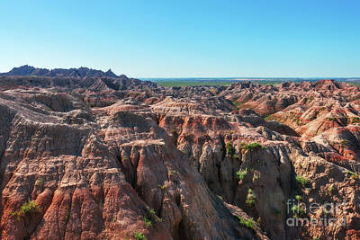 Photograph - The Badlands by Sharon Seaward