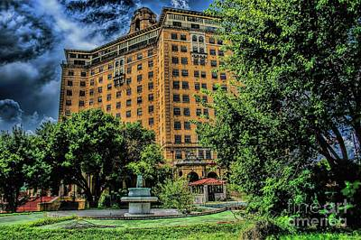 Photograph - The Baker Hotel by Diana Mary Sharpton