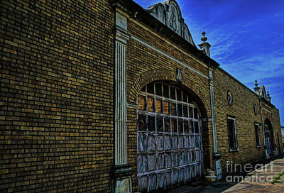 Photograph - The Baker Hotel Garage by Diana Mary Sharpton