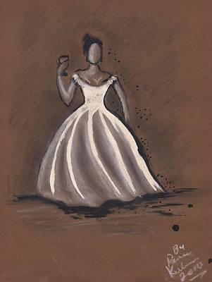 Ball Gown Mixed Media - The Ball by Renee Kilburn