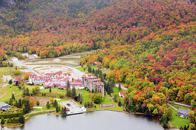 Photograph - The Balsams In Autumn by Jatinkumar Thakkar