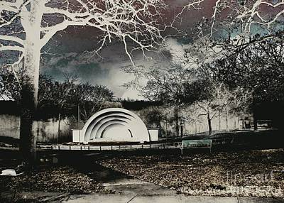Photograph - The Band Shell by Jenny Revitz Soper