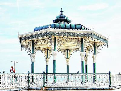 Photograph - The Bandstand On Brighton Seafront by Dorothy Berry-Lound