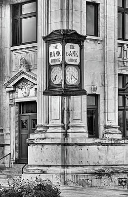 Photograph - The Bank Building Downtown Denton by JC Findley