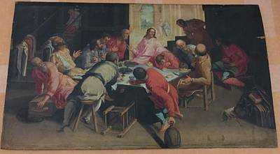 The Banquet Original by Attributed to Jacopo Robusti Tintoretto