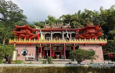 Photograph - The Baolian Temple In Southern Taiwan by Yali Shi