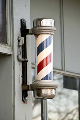 Photograph - The Barber Shop 4 by Angelina Vick