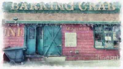Photograph - The Barking Crab Boston by Edward Fielding