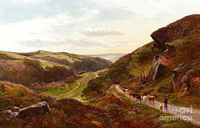 Percy Painting - The Barmouth Valley by MotionAge Designs