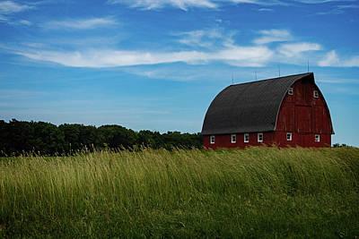Photograph - The Barn by CJ Schmit