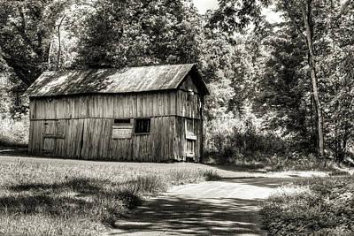 Photograph - The Barn Down The Shady Lane by Douglas Barnett