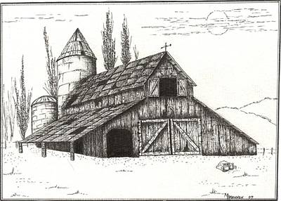 Old Barn Drawings Page 4 Of 5