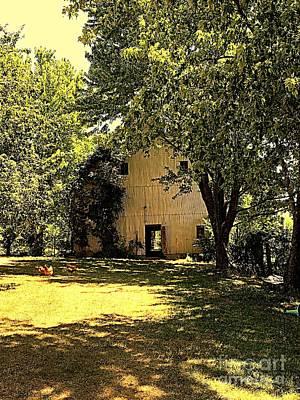 Photograph - The Barn by Nancy Kane Chapman