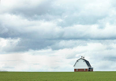Photograph - The Barn by Rebecca Cozart