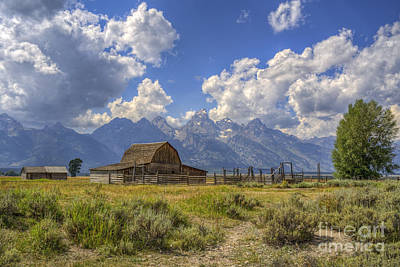 Photograph - The Barn by Scott Wood