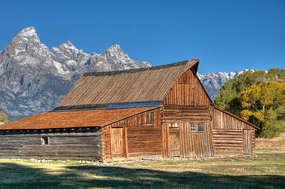 Photograph - The Barn by Steve Stuller
