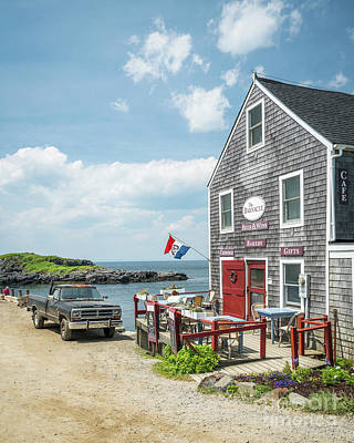 Mid-coast Maine Photograph - The Barnacle Monhegan by Benjamin Williamson