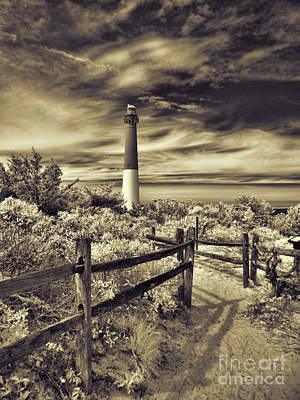 Photograph - The Barnegat Lighthouse New Jersey by Jeff Breiman