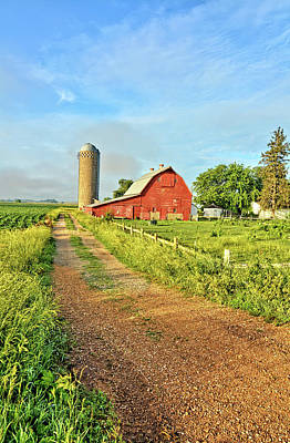 Photograph - The Barnyard 2 by Bonfire Photography