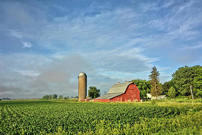 Photograph - The Barnyard 3 by Bonfire Photography