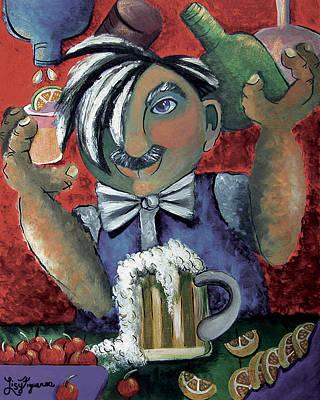 The Bartender Original by Elizabeth Lisy Figueroa