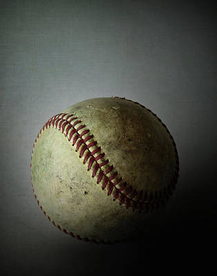 Photograph - The Baseball by David and Carol Kelly