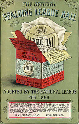 Painting - The Baseball by Vintage Pix