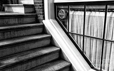 Photograph - The Basement Window Mono by John Rizzuto