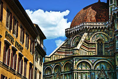 Photograph - The Basilica Di Santa Maria Del Fiore   by Harry Spitz