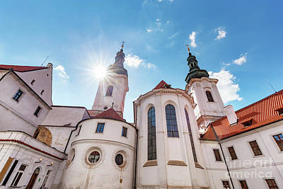 Photograph - The Basilica Of The Assumption Of Our Lady In Strahov Monastery, Prague, Czech Republic by Michal Bednarek
