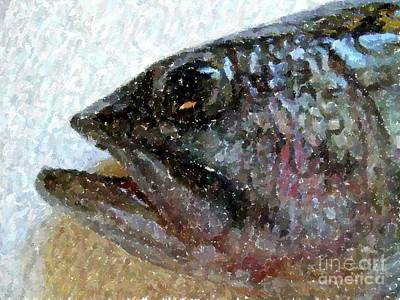 The Bass Art Print by Carol Grimes