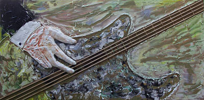 Painting - The Bass Player by John Stuart Webbstock