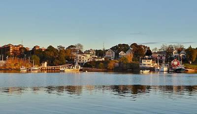 Claude Monet - The Bass River, Beverly, Massachusetts by Scott Hufford